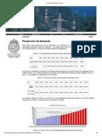 Proyección de La Demandainversión Eléctrica en Chile