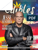 Edibles List Magazine - Issue 37 - The Conspiracy Issue - Featuring Jesse Ventura
