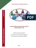 Guia de Investigação de Resultados Fora de Especificação