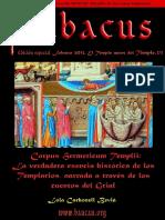 Abacus Núm Especial. El Temple Antes Del Temple 2-3. Corpus Hermeticum Templii