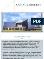 CRM in Banking Industry