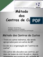 Metodo_centro de Custos