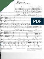 Koussevitsky Concerto for Double Bass