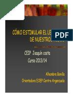 Charla Estimulación Del Lenguaje 2014