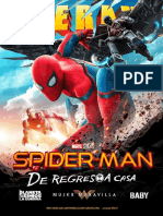 Revista Cinerama - Spider-Man De Regreso a Casa