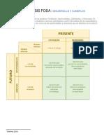 La Matriz FODA _ Desarrollo y 2 Ejemplos Enviar
