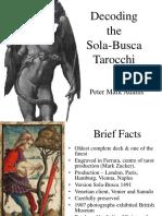 Decoding the Sola-busca Tarocchi by Peter Mark Adams