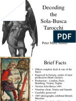Decoding the Sola-busca Tarocchi by Peter Mark Adams