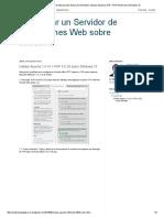 Configurar un Servidor de Aplicaciones Web sobre Windows_ Instalar Apache 2.4.16 + PHP 5.5