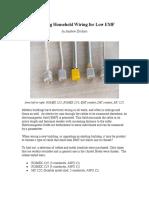 Choosing Household Wiring