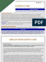 Organ Donation Case