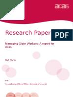 Managing Older Workers