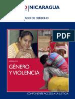Módulo VI Género y Violencia