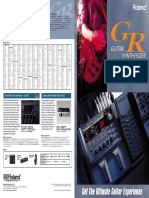 Guitar Synthesizer GR-20 [Brochure]