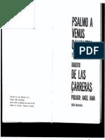 De+las+Carreras Roberto, Psalmo+a+Venus+Caval