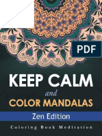 Keep Calm and Color Mandalas - - Speedy Publishing LLC