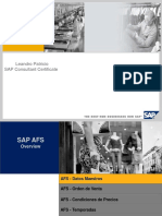 SAP AFS Overview