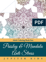 Paisley & Mandala Anti Stress_ - Jupiter Kids