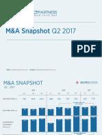 Q2 2017 M&A Snapshot