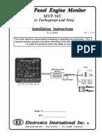 Mvp 50 t Manual de Instalacion (Ingles)