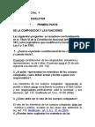 CUESTIONARIO No. 1 Constitucional.