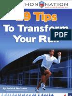 29 Running Tips Marathon Nation