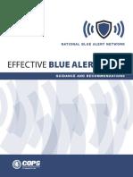 Blue Alert Guidance