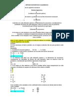 Balance de Ecuaciones Quimicas.- MÉTODO MATEMÁTICO O ALGEBRAICO