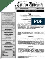 Ley Para Control Telematico GT