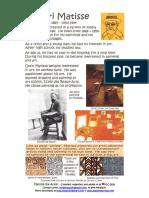 Collage Booklet Aboutartist Matisse