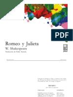 Romeo y Julieta Trad de Pablo Neruda
