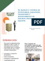 CLASE 4 El Manejo y Control de Inventarios Almacenes
