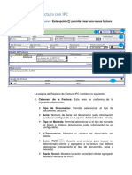 Registro de Factura Con IPC