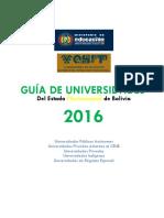Guia de Universidades Privadas de Bolivia