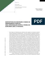 Dispositivos De inscrição e reDes De orDenamento público -  Uma aproXimação entre a teoria Do  ator-reDe (ant) e FoUcaUlt.pdf