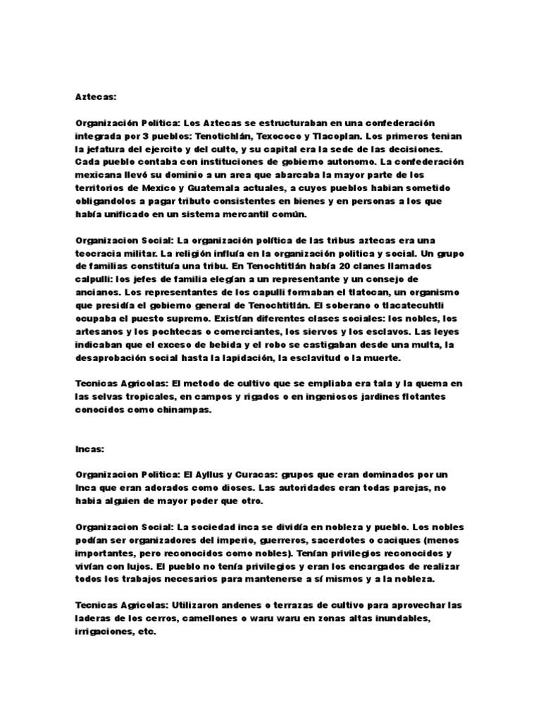Aztecas Docx