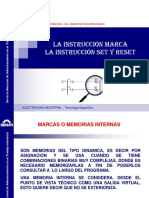 Instruccion Marca SET y RESET