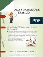 JORNADA Y HORARIO DE TRABAJO (PERU)
