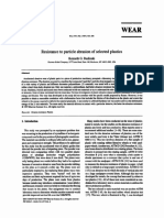 UHMWPE- Resistance to particle abrasion of selected plastics.pdf