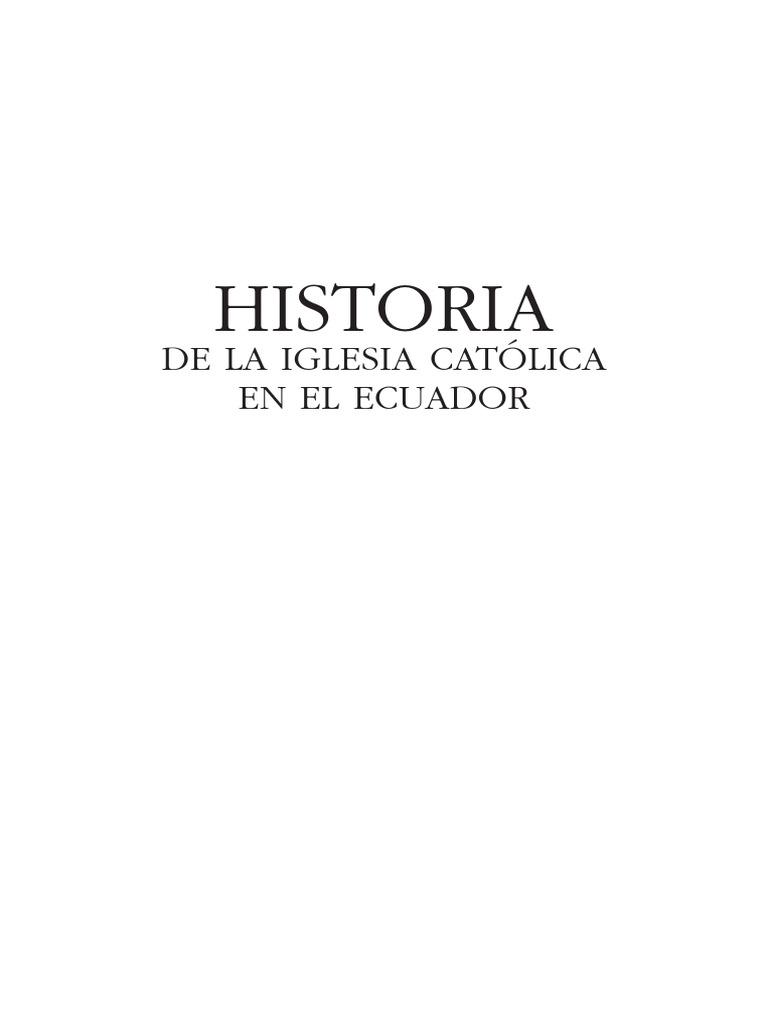 Historia de la Iglesia Católica en el Ecuador Tomo 3.pdf