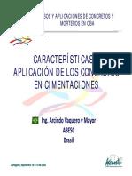Caracteristicas y Aplicacion de Los Concretos en Cimentacio