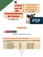 Criterios ESTUDIO SUELOS