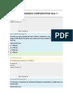 Quiz 1 Finanazas Corporativas