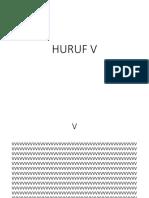 Huruf V.ppt