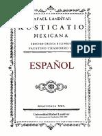 Rusticatio Mexicano