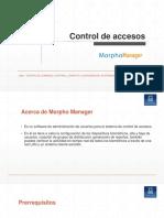 Control de Accesos Morpho Manager v2