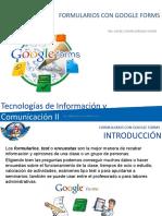Formularios Con Google Forms