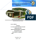 Fisica II Informe Resistencias Electricas (1)