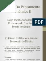 11. Novo Institucionalismo e Jogos