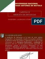 TOPOGRAFIA - MEDICION DE DISTANCIAS.pptx